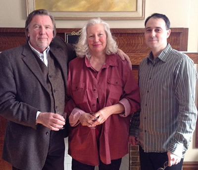 with Brian and Debra Usher (Arabella Magazine - Canadian Art, Architecture and Design)